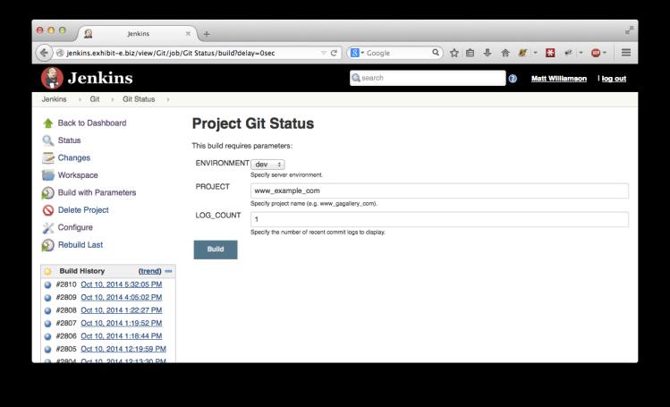 Jenkins Git Status